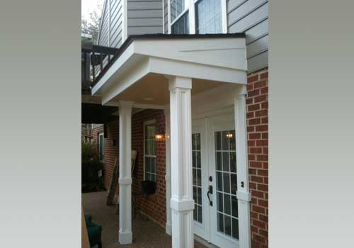 front porch design by advantage home contracting