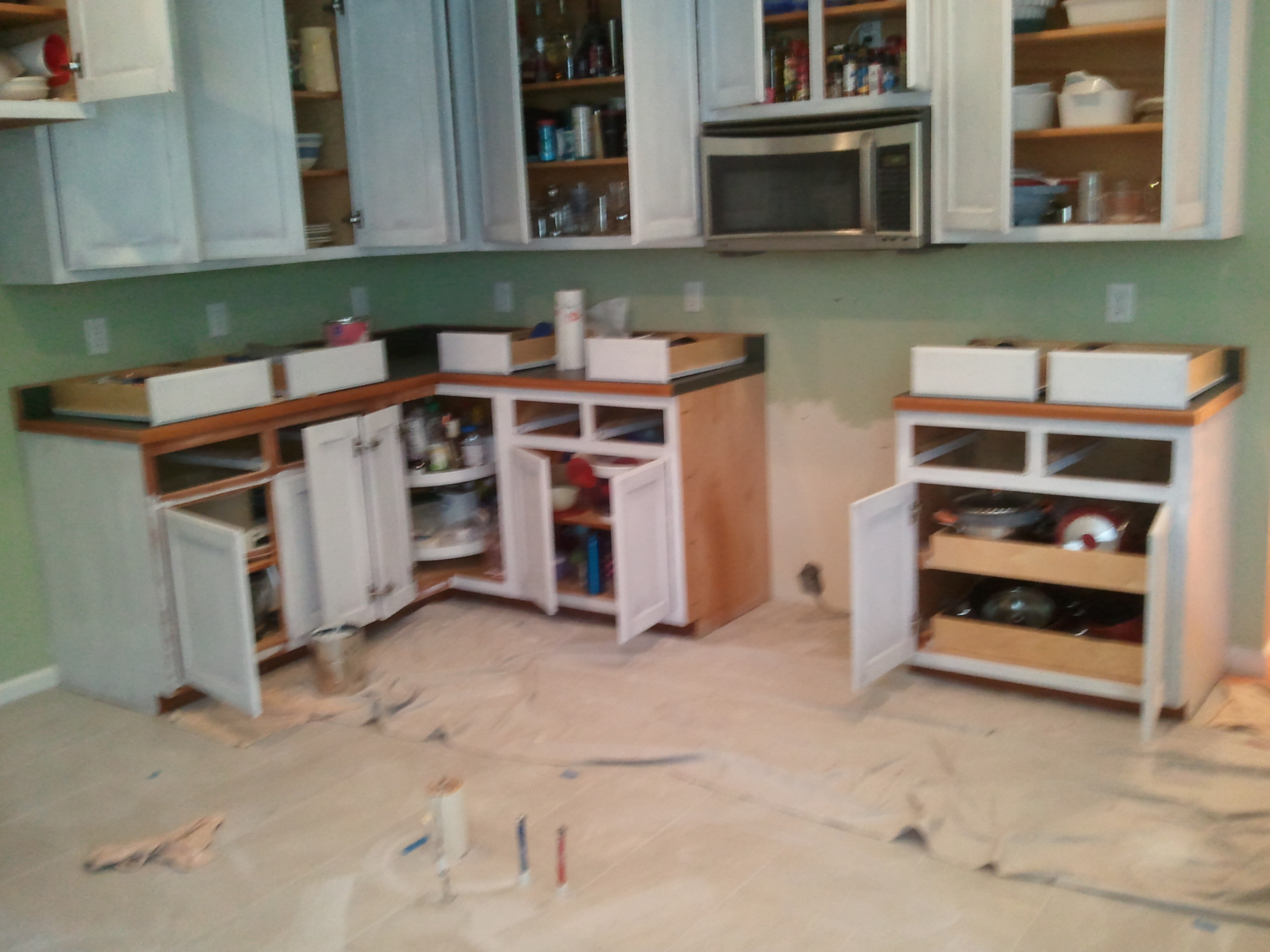 kitchen remodeling by advantage home contracting