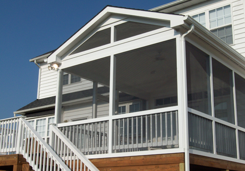 screened porch design & installation by advantage home contracting
